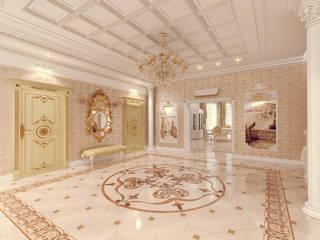 Couloir et hall d'entrée de style  par Tutto design,