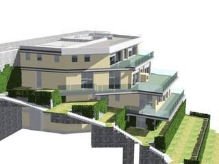 Villa privata - Blevio Lago di Como di Archiluc's - Studio di Architettura Stefano Lucini Architetto
