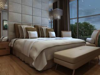 Apartment in Dubai Dormitorios de estilo moderno de Wing Chair S.A. Moderno