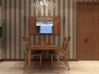 Apartment in Dubai Comedores de estilo moderno de Wing Chair S.A. Moderno