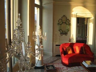 Villa Taglioni - Blevio Como Lake Archiluc's - Studio di Architettura Stefano Lucini Architetto Salas de estilo clásico