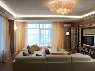 Eclectic style living room by KRAUKLIT VALERII Eclectic