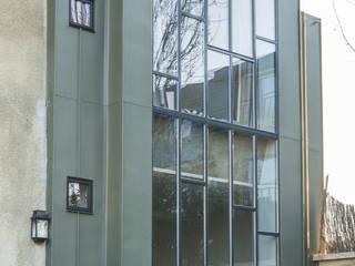 Vue de l'extension: Maisons de style de style Moderne par maéma architectes