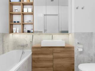 081 architekci Baños de estilo minimalista