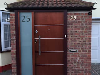 Sudbury hill Modern Windows and Doors by Stronghold Security Doors Modern