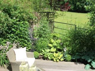 Small contemporary boutique garden:  Garden by Dawn Garden Design