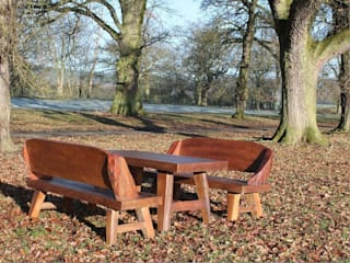 Flintstones Bench Set:   by Garden Furniture Centre