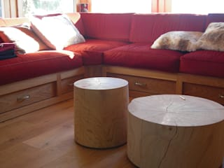 ALLOGGIO IN MONTAGNA: Soggiorno in stile in stile Moderno di TORPEGO