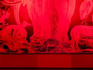 Carnovsky Tapeten, Detail:  Flur & Diele von Irina Ilieva,  Dipl.-Ing. Architekt