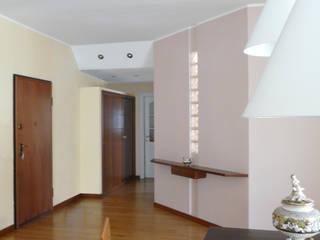 Ristrutturazione appartamento con terrazza a Milano Ingresso, Corridoio & Scale in stile moderno di Interni d' Architettura Moderno