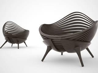 Fauteuil Shell:  de style  par Kevin Testamarck