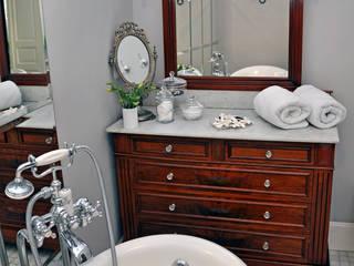 Łazienka, nasza osobista przestrzeń: styl , w kategorii  zaprojektowany przez Decolatorium