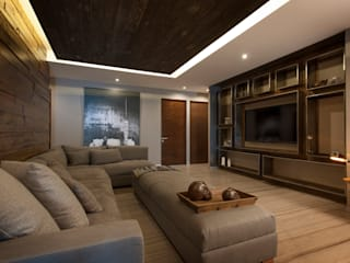 Living room by kababie arquitectos, Modern