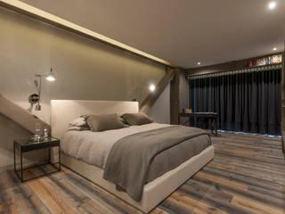 Bedroom by kababie arquitectos,