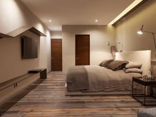 Departamento CM Dormitorios modernos: Ideas, imágenes y decoración de kababie arquitectos Moderno