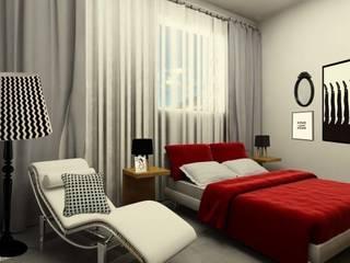 L.S.'s Appartment: Chambre de style  par Alguma Coisa Design