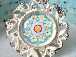 Vintage Möbelknauf GLAMOUR FLOWER:  Haushalt von Shabbyflair