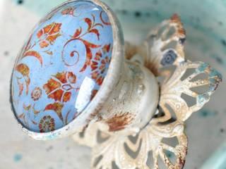 VICTORIA BLUE Möbelknauf mit Rost und Patina:  Haushalt von Shabbyflair