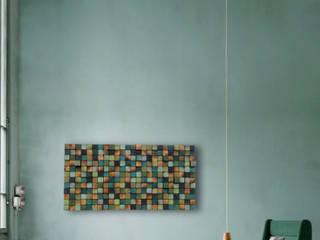 Mozaika drewniana: styl , w kategorii  zaprojektowany przez DrewnianaŚciana