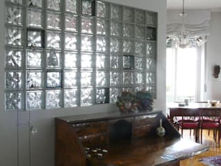 Ristrutturazione appartamento a Milano Ingresso, Corridoio & Scale in stile eclettico di Interni d' Architettura Eclettico