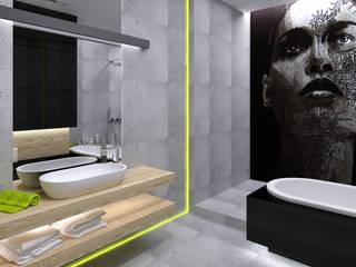 Minimalist style bathroom by The Vibe Minimalist