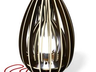 La lampe CALYX 48 par Osmose le bois Éclectique