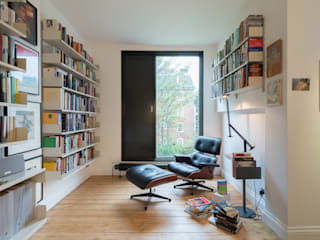 Study/office by Will Eckersley, Minimalist
