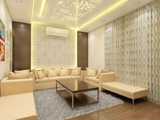 residence: asian  by abc interiors india,Asian