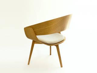 Fauteuil Boogaloo par Mathieu Esclassan Moderne