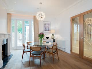 Dining room by Will Eckersley, Modern