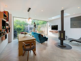 Living room by Will Eckersley, Eclectic