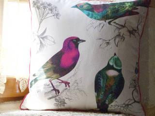 Les coussins de la collection Authentiques par Bloup Coussins Rural