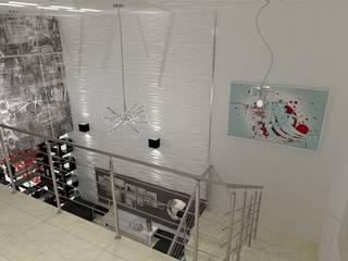 Modern corridor, hallway & stairs by AurEa 34 -Arquitectura tu Espacio- Modern