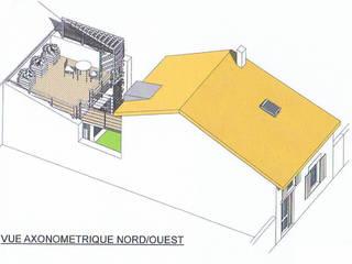 Rénovation et extension d'une Maison à Marsat 63200 Maisons modernes par AGENCE D'ARCHI. PASCALINE JUSTE Moderne