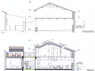 Rénovation et extension d'une Maison à Marsat 63200 par AGENCE D'ARCHI. PASCALINE JUSTE