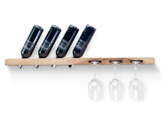 TU LAS | wooden wine rack | model B TU LAS Dining roomWine racks