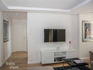 HOLADOM Ewa Korolczuk Studio Architektury i Wnętrz Modern living room