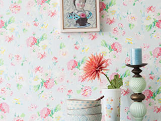 Field of Flowers Wallpaper ref 3900020 di Paper Moon Rurale