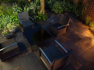 Moderne tuin in Emmeloord van Gernell Hoveniers Mediterraan