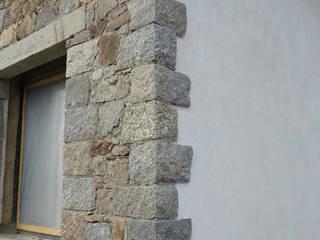 Saubere Verarbeitung der Fassade:  Häuser von Jahn Gewölbebau