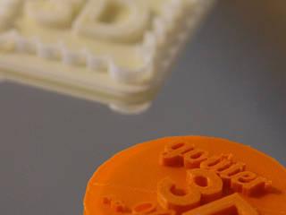 Goûter 3D - L'impression à tartiner: Restaurants de style  par Héloïse Benoit
