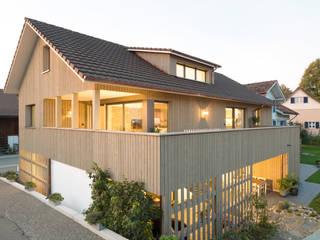 Casas de estilo  por skizzenROLLE, Rural