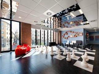Moderner Multimedia-Raum von Tommaso Giunchi Architect Modern