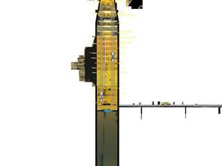 "Hard shell soft core ""Typhoon class tower"" 2014  :  Hotels von bob-architektur  BDA"