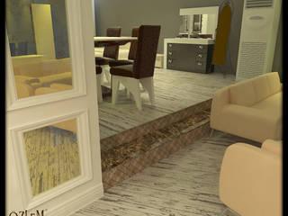 özlem tokerim iç mimarlık ve tasarım – mobilya mağazası...: modern tarz , Modern