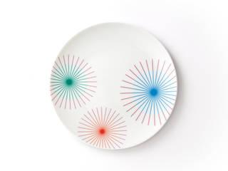 Porcelanowy talerz marki Zulana (śr.21cm): styl , w kategorii  zaprojektowany przez Zulana