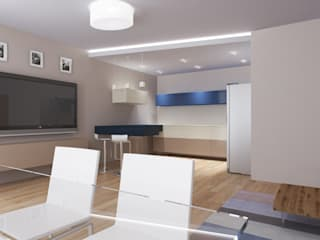 ISDesign group s.r.o. Minimalist living room