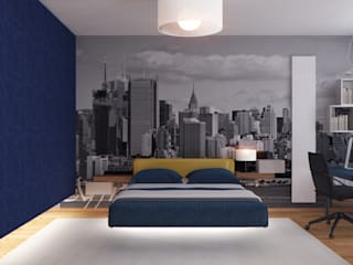 ISDesign group s.r.o. Chambre minimaliste