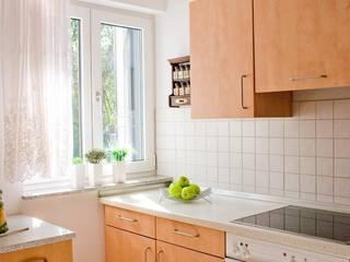 Küche nachher:   von Hoffmann Immobilienpräsentation Home Staging & Redesign UG (hfb.)