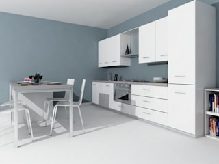 Cocinas de estilo moderno de Laura Mattiuzzo Architetto Moderno